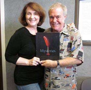 Phil Proctor & Carolyn Fox in Studio recording Peter Bergman & the Calendar of Doom