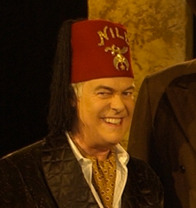 Phil Proctor of The Firesign Theatre as the evil Rocky Rococo